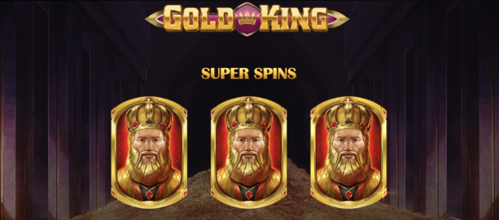 Gold King, new Play'n Go slot game
