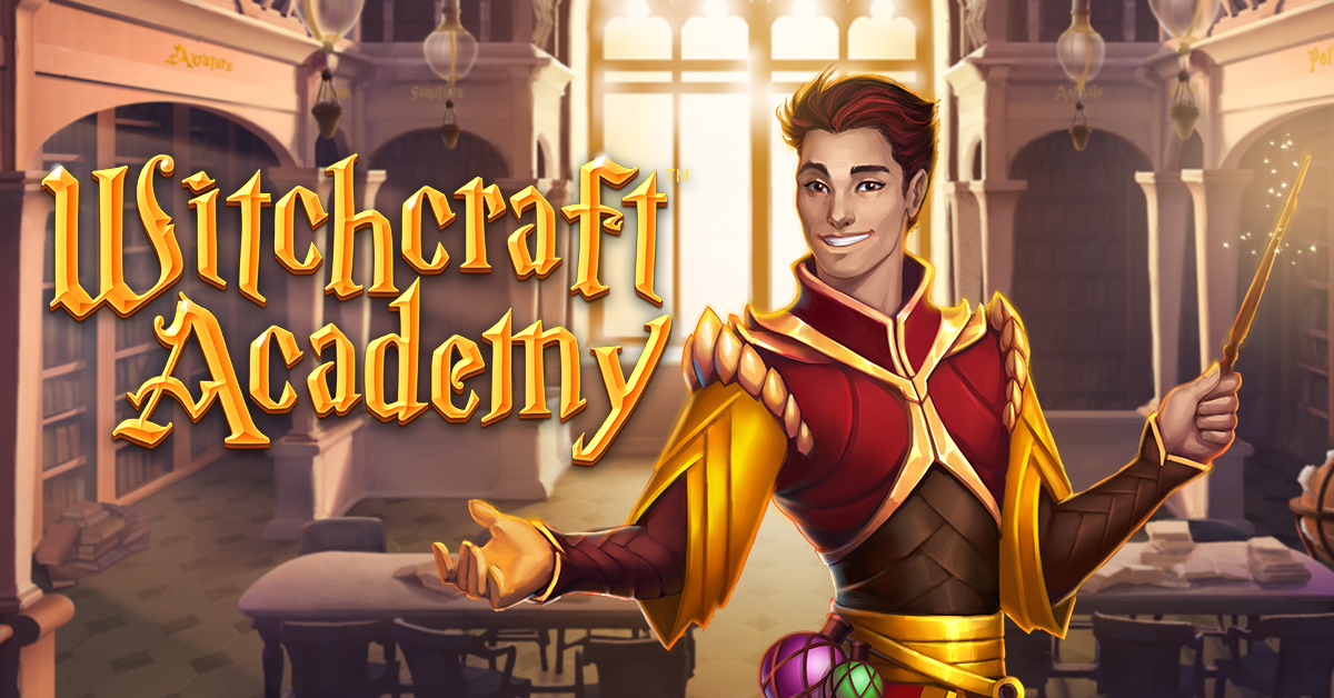 Witchcraft Academy slot game, new from NetEnt