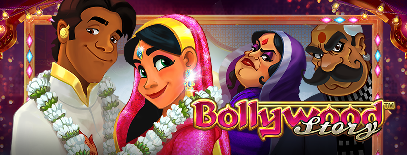 Bollywood Story slot game, a Lights clone