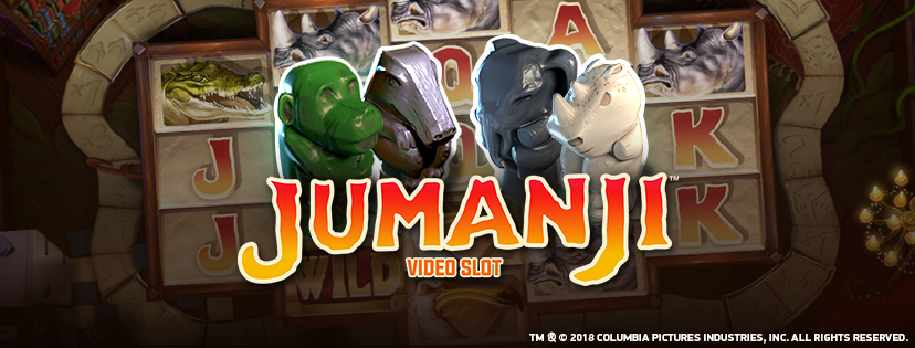 New from NetEnt, Jumanji slot game
