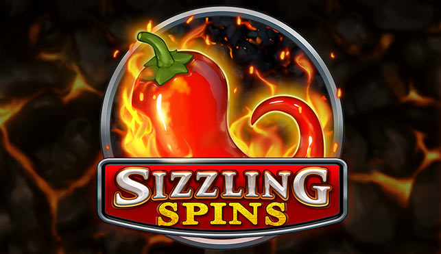 Sizzling Spins, great new Play'n Go slot game