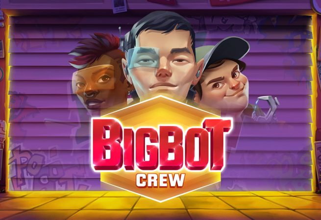 New from Quickspin, BigBot Crew slot game