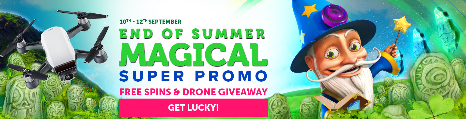End of Summer promo at CasinoLuck