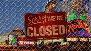 online casinos closing down