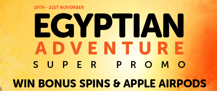 Claim free spins and win Apple Airpods