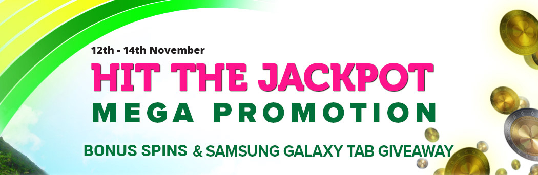 Hit the Jackpot Mega Promotion