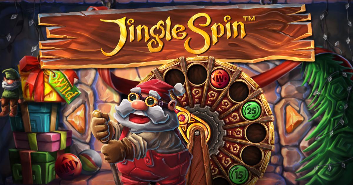Jingle Spin, new NetEnt Christmas slot game