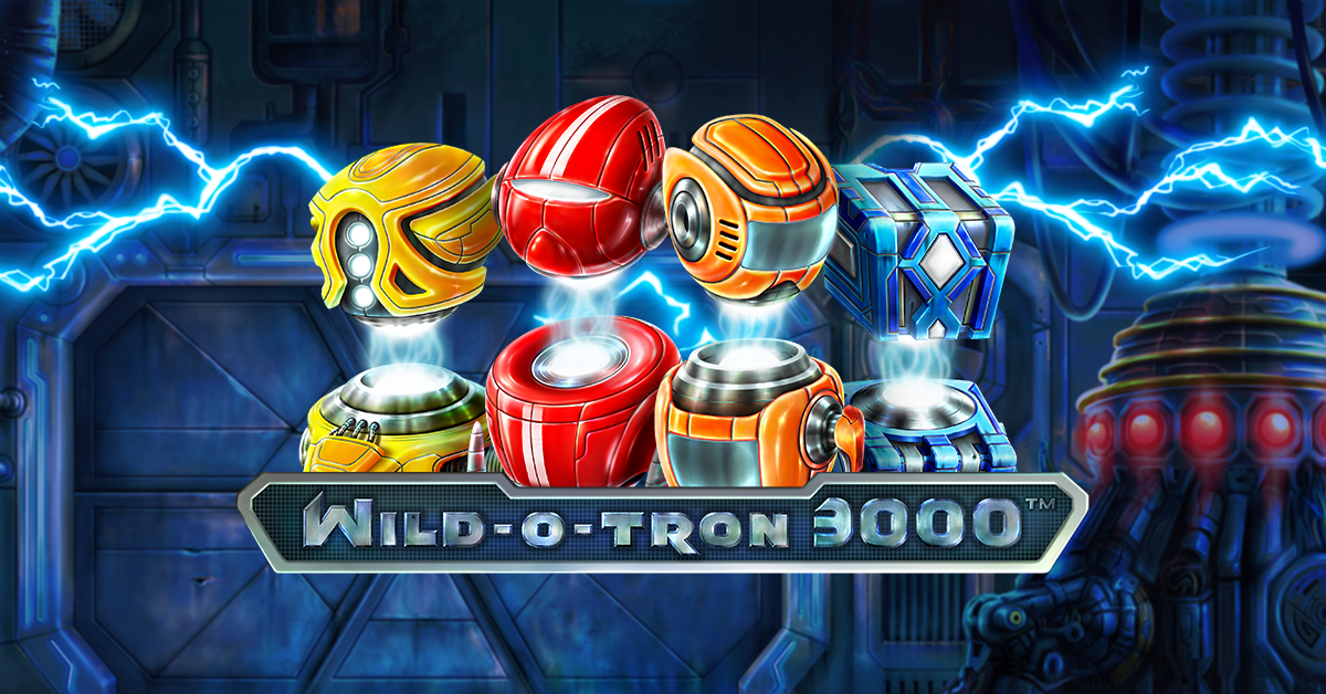 Wild-O-Tron 3000, simple new NetEnt slot game