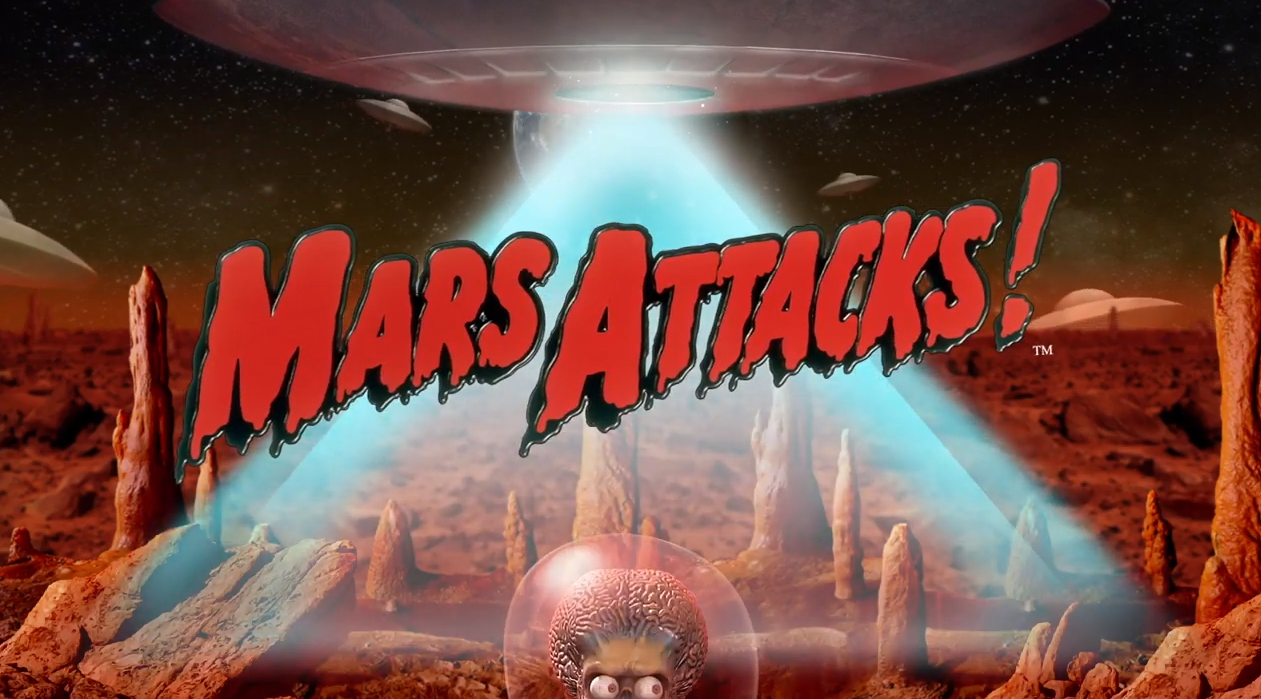 Mars Attacks! new online slot game