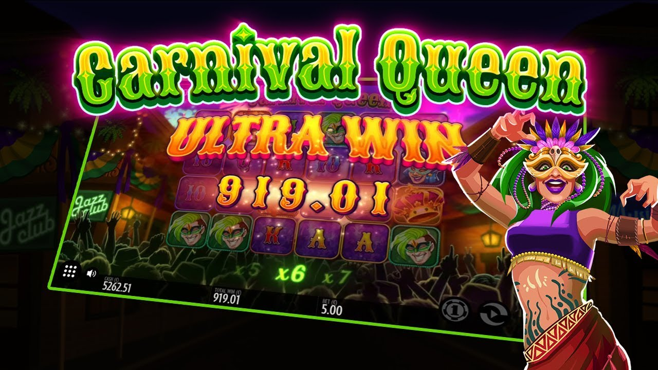 Carnival Queen, new from Thunderkick