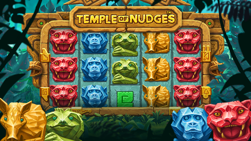 Temple of Nudges, new NetEnt slot game