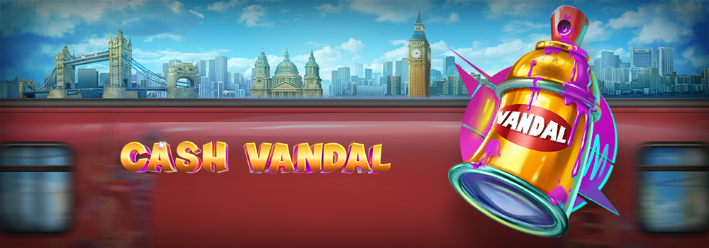 New from Play'n Go, Cash Vandal slot game