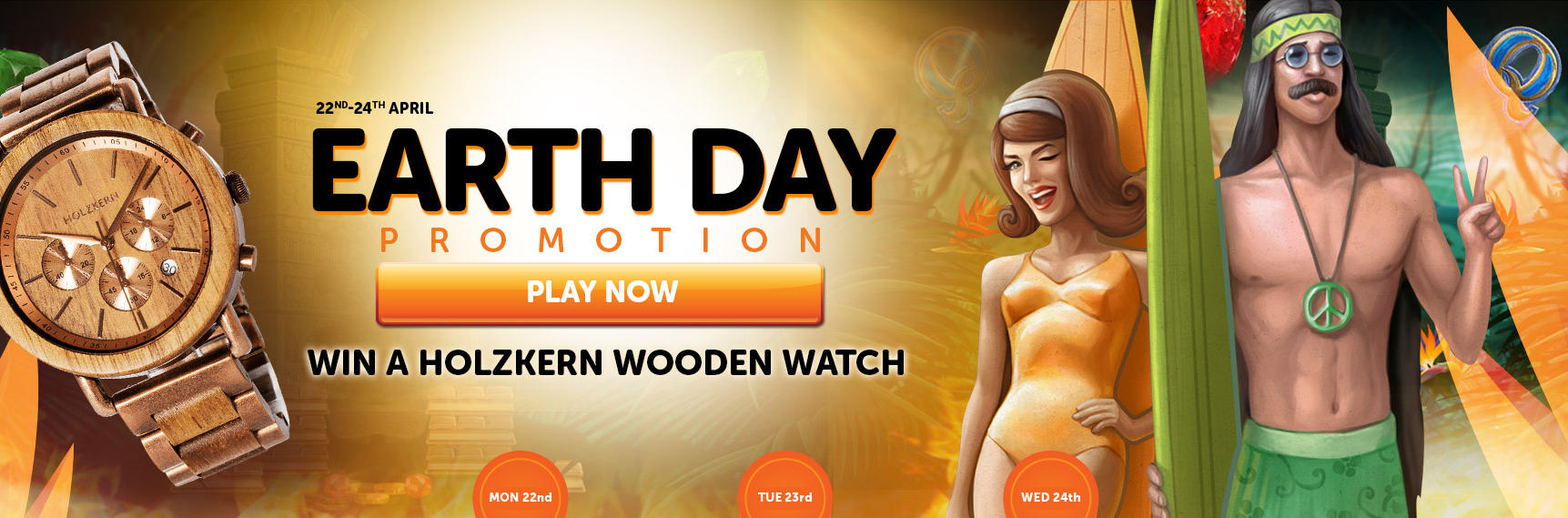 Earth Day Promotions at WildSlots