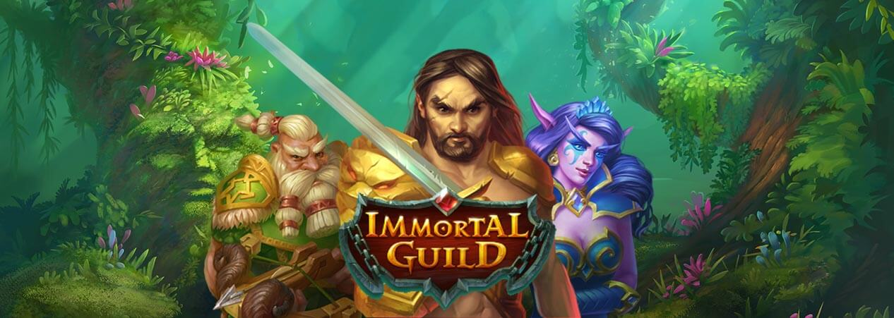 Immortal Guild, new from Push Gaming