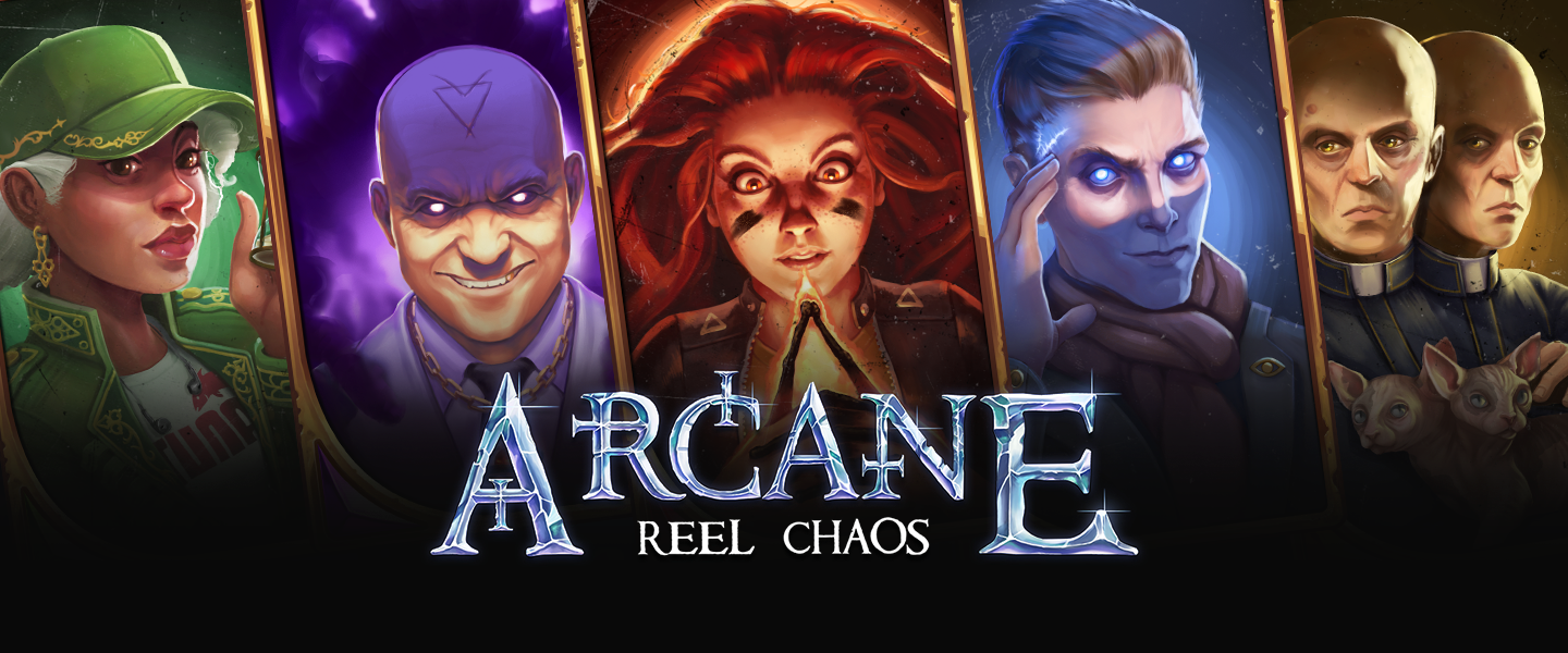 Arcane Reel Chaos, new from NetEnt