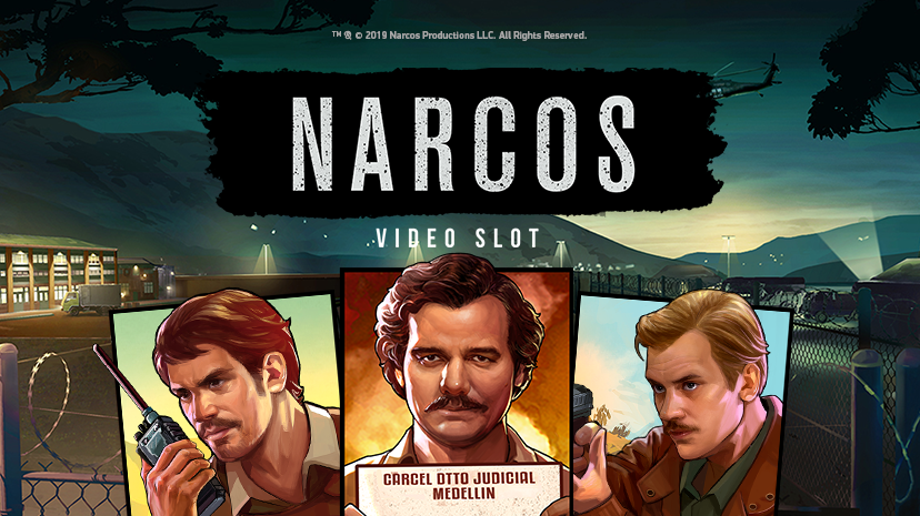 Narcos, new NetEnt slot game now live