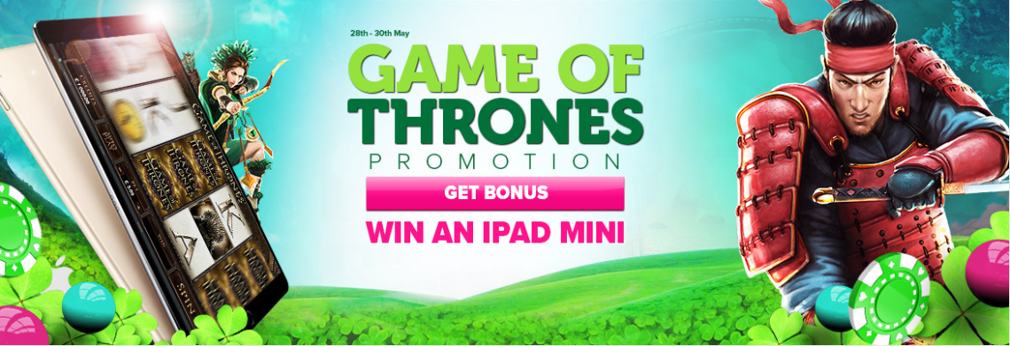Win an iPad Mini at CasinoLuck