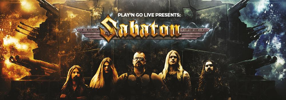 Sabaton, new Play'n Go slot game