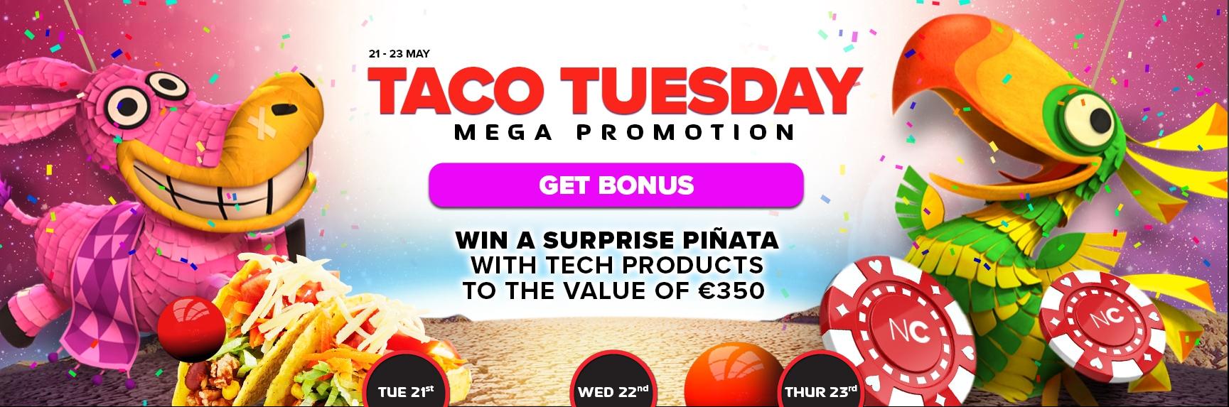 Win 350 Euros tech products at NextCasino