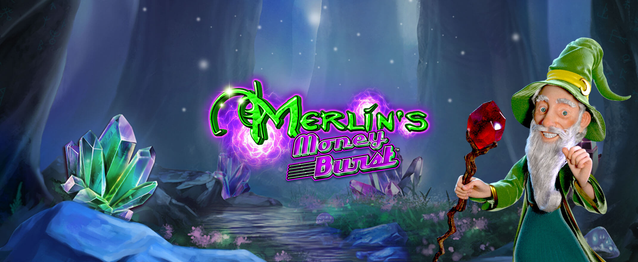 Merlin's Money Burst, new slot game