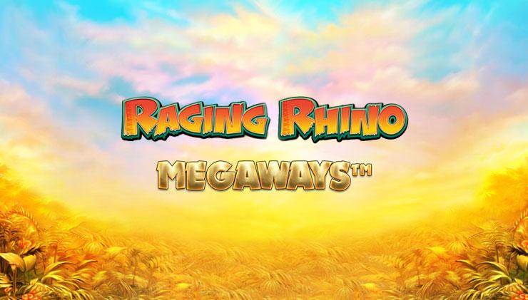 New, Raging Rhino Megaways slot game