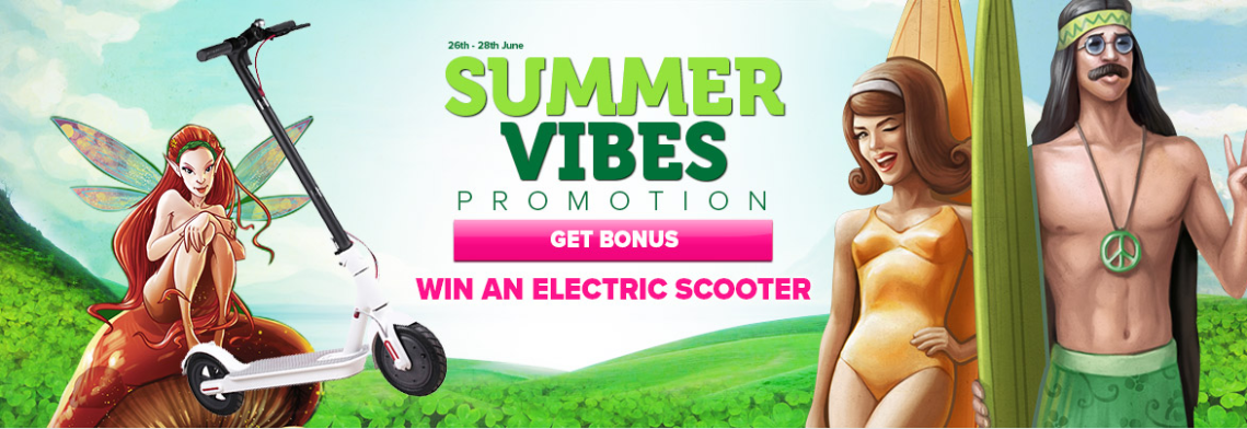 Summer Vibes, win an electric scooter