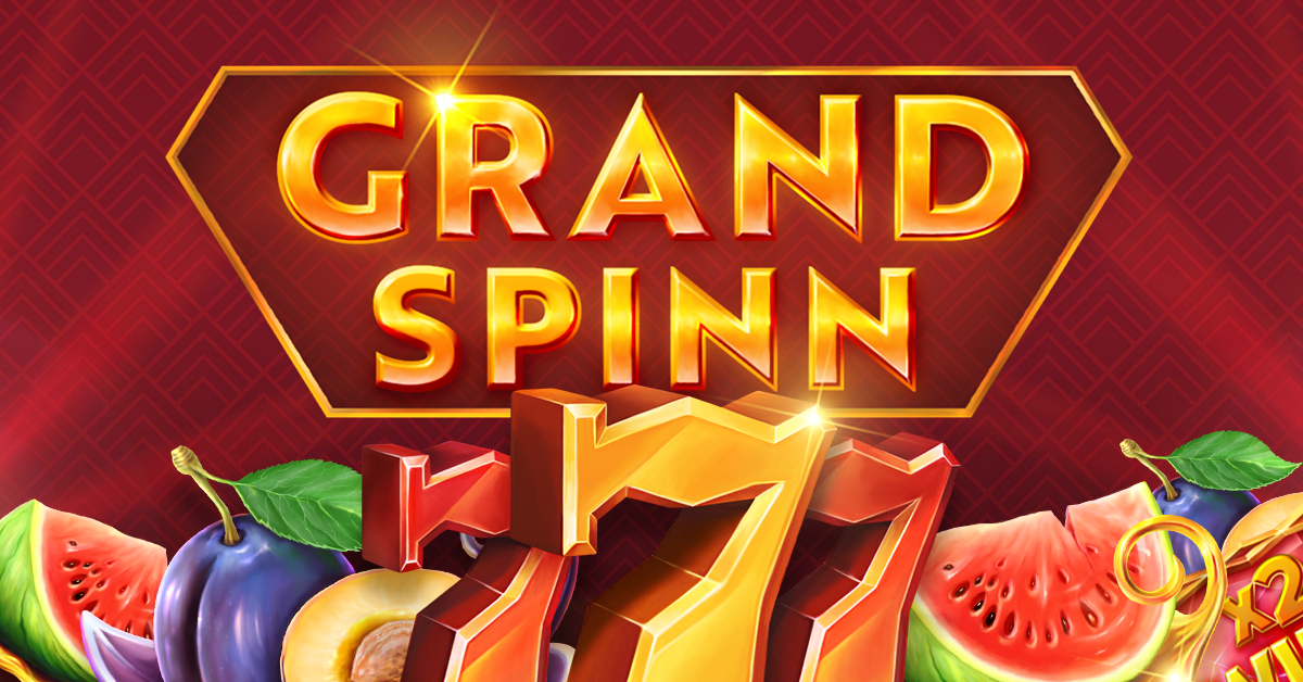 Grand Spinn by NetEnt now live