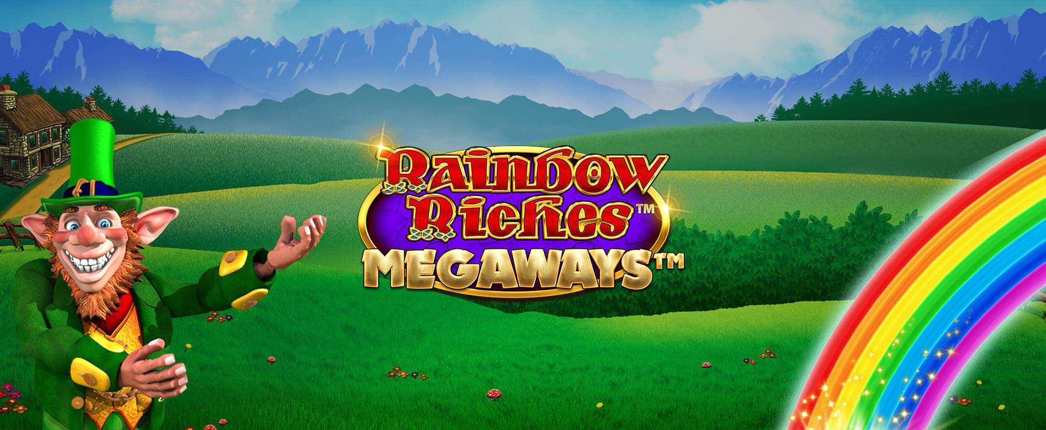 New, Rainbow Riches Megaways