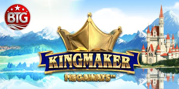 Kingmaker, new Big Time Gaming slot game