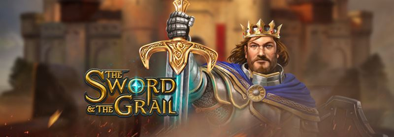New from Play'n Go, The Sword and The Grail