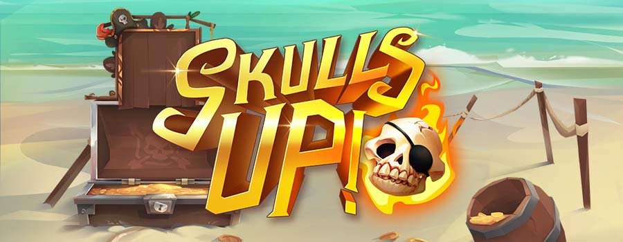 New from Quickspin, Skulls UP!