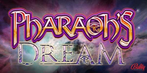Pharaoh's Dream, Bally slot game now live