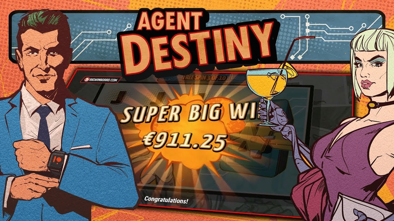 Linked reels in new Agent Destiny slot game