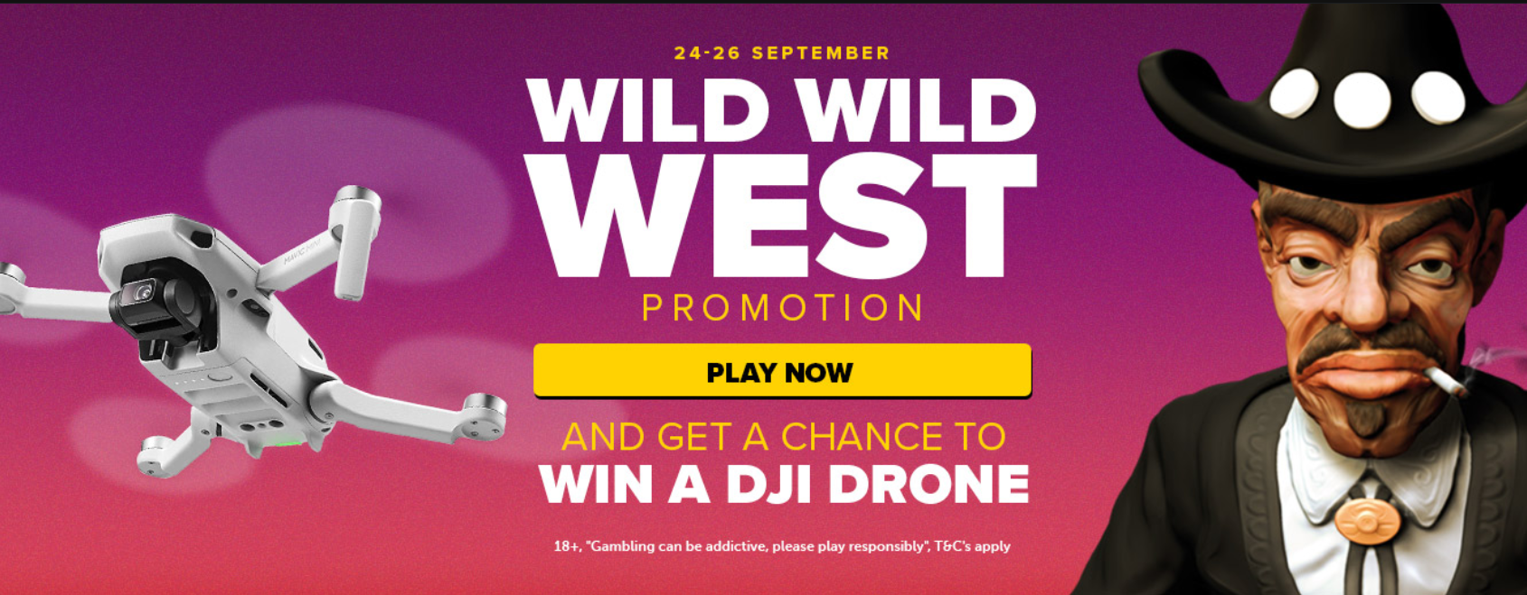 Claim free spins and win a DJI Drone at NexCasino