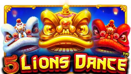5 Lions Dance, new from Pragmatic Play