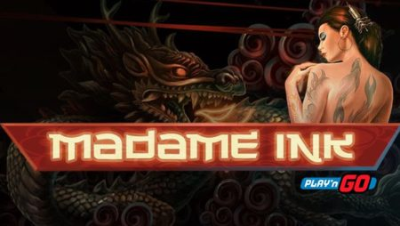 Madame Ink, new low volatile Play'n Go slot game
