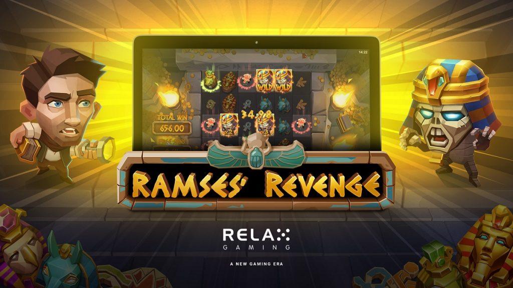 Cool new slot, Ramses' Revenge from Relax Gaming