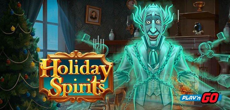 Holiday Spirits, new Play'n Go slot game