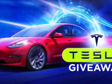Tesla Model 3 giveaway