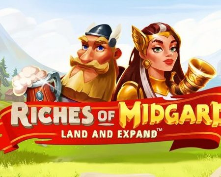 Riches of Midgard – Land and Expand, new from NetEnt