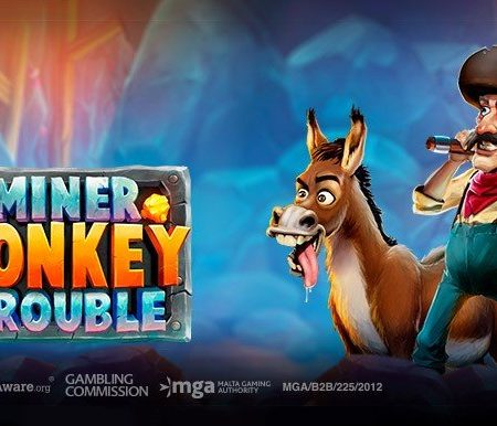 Miner Donkey Trouble, new grid slot game