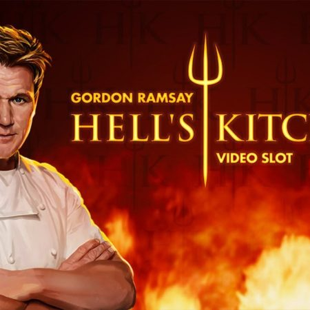 New from NetEnt, Hell's Kitchen slot game