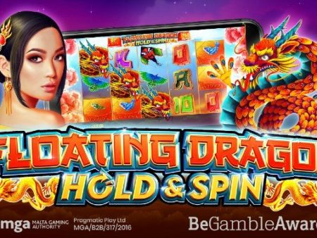 New, Floating Dragon – Hold & Spin