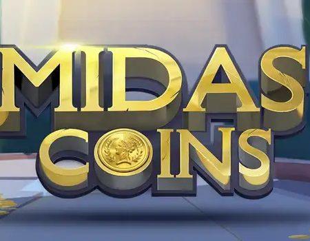 Midas Coins, new Quickspin slot game