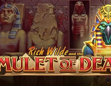 New, Rich Wilde and the Amulet of Dead