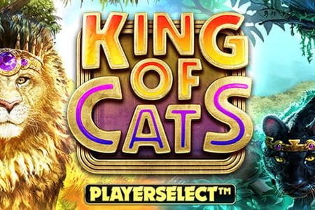 New from Big Time Gaming, King of Cats Playerselect