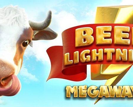 New Big Time Gaming slot, Beef Lightning Megaways