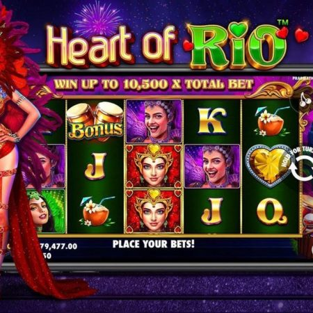 Heart of Rio, new from Pragmatic Play