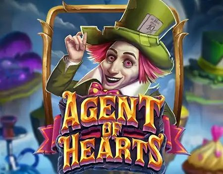 Agent of Hearts, a new grid slot game by Play'n Go