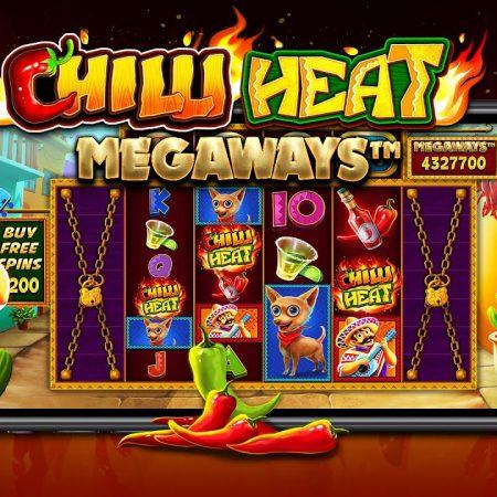 Chilli Heat Megaways, new Megaways version from Pragmatic Play